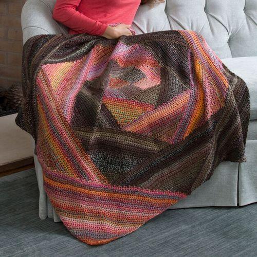 Spiral Lapghan Crochet Pattern