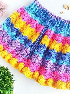The Kenzie Skirt Crochet Pattern