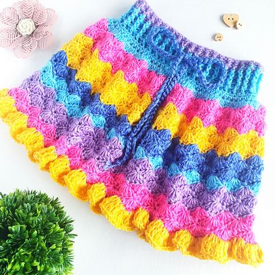 The Kenzie Skirt Crochet Pattern