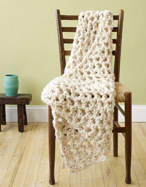 V-stitch Lapghan Crochet Pattern