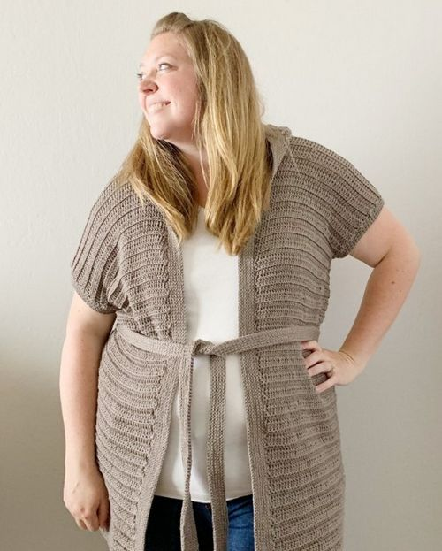 Waverly Hooded Cardigan Crochet Pattern