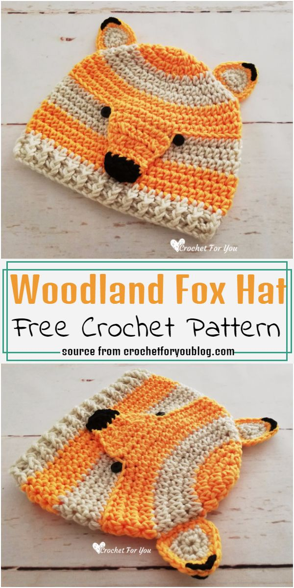 Woodland Hat Crochet Pattern
