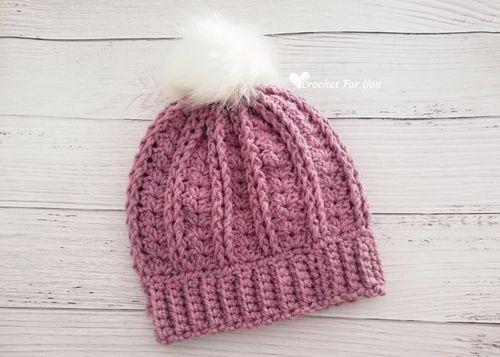 Yara Beanie Hat Crochet Pattern
