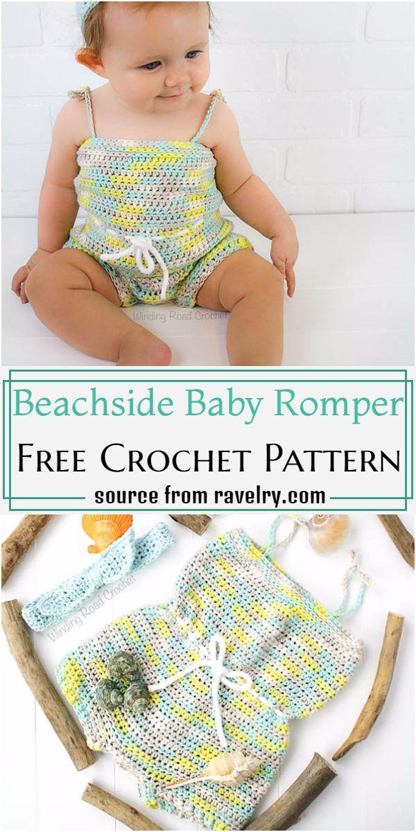 Beachside Baby Romper Crochet Pattern