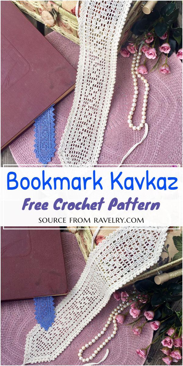 Bookmark Kavkaz Crochet Pattern