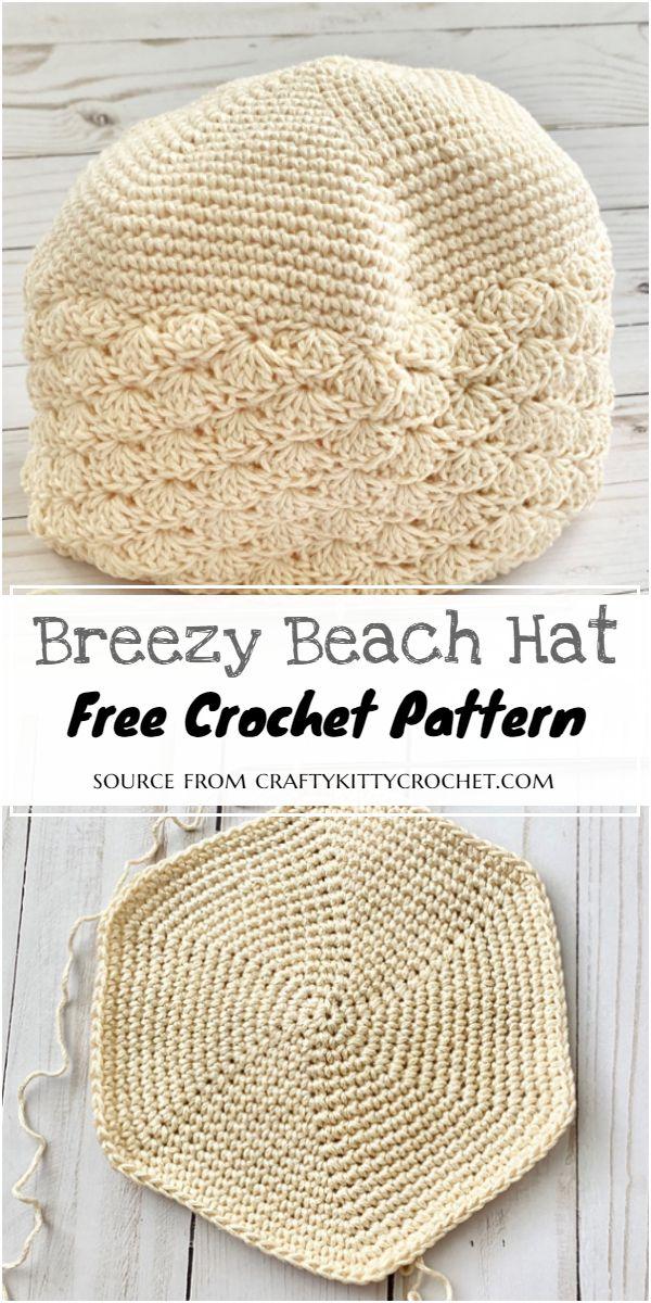 Breezy Beach Hat Crochet Pattern