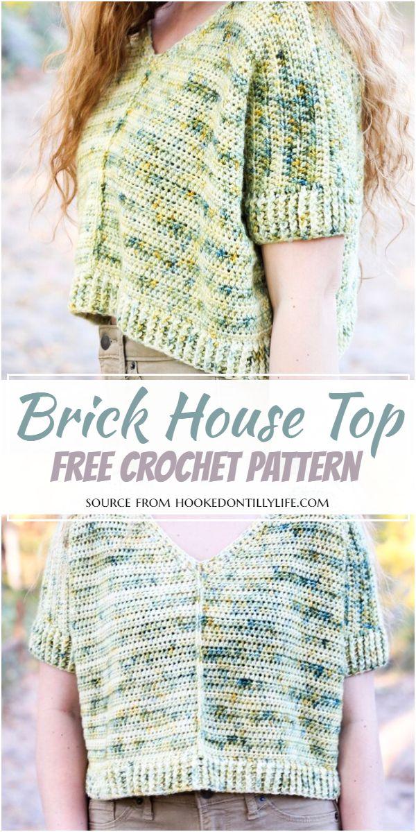Brick House Crochet Top Pattern