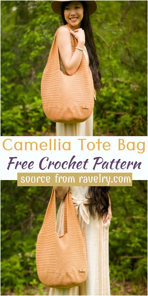 Camellia Crochet Tote Bag Pattern