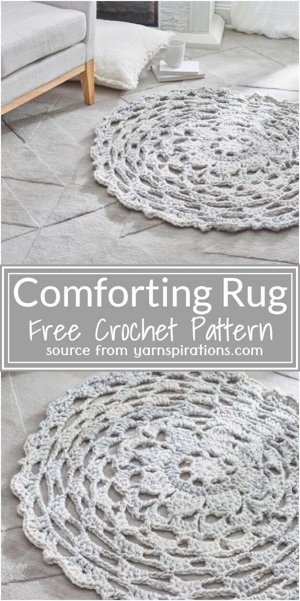 Comforting Rug Crochet Pattern