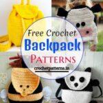 15 Crochet Backpack Patterns