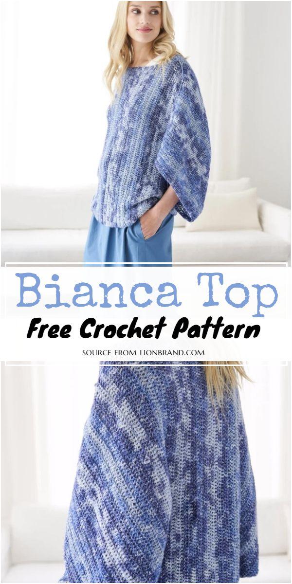 Crochet Bianca Top Pattern