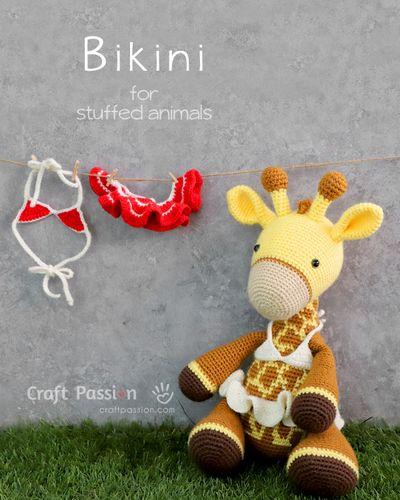 Crochet Doll Dress Bikini Free Pattern