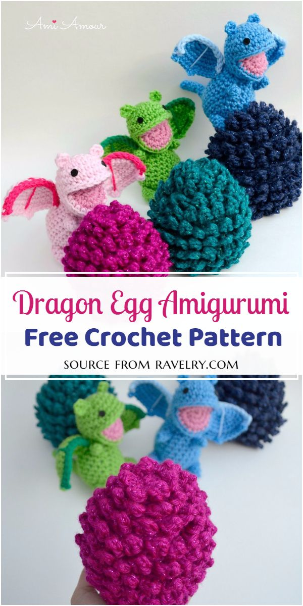 Free and cute Egg Amigurumi Pattern
