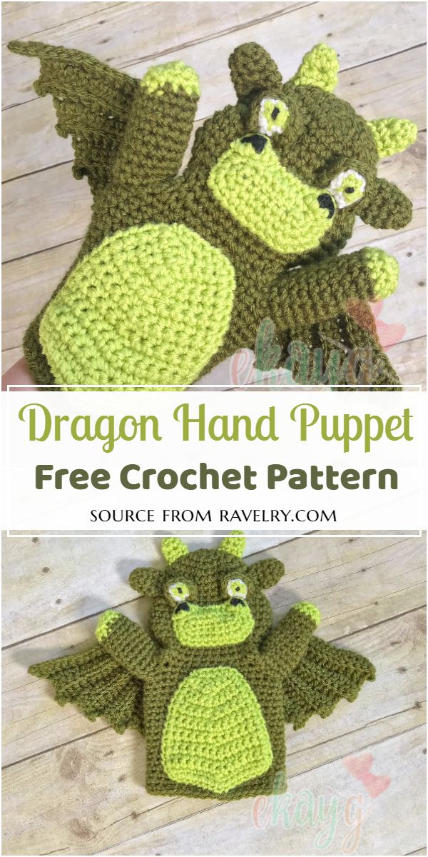 Adorable Hand Puppet Pattern