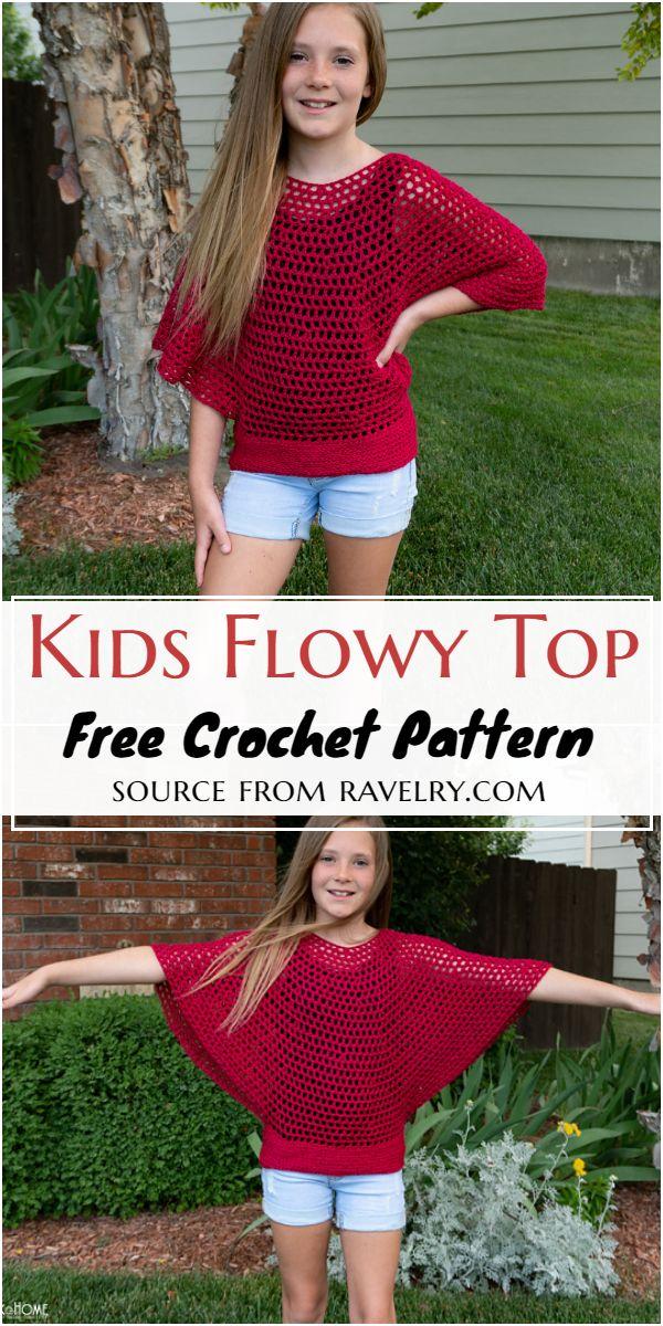 Kids Flowy Free Pattern