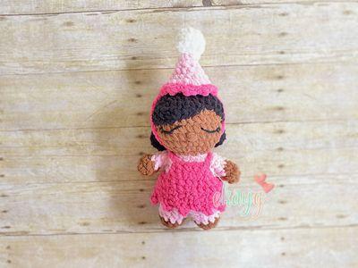 Crocheted Baby Doll Birthday Girl Pattern