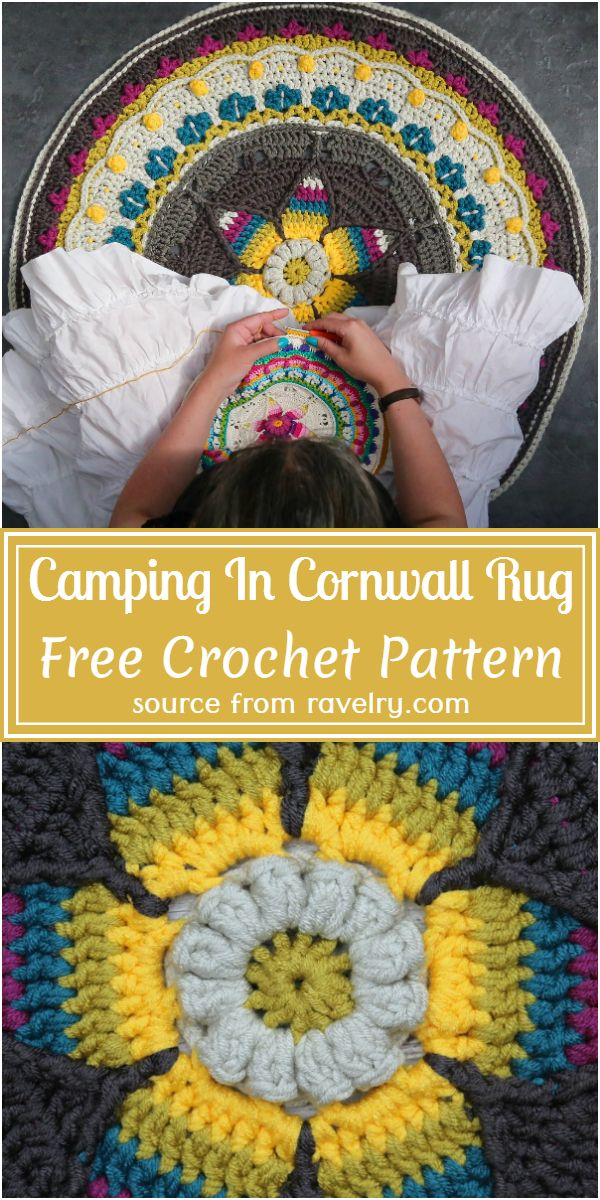 Free Free Camping In Cornwall Crochet Rug Pattern