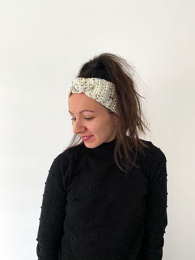 Free Chunky Crochet Twist Headband Pattern