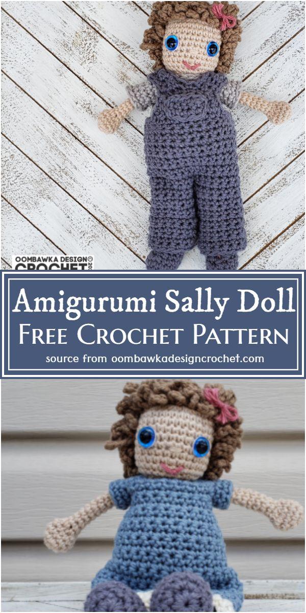 Free Crochet Amigurumi Sally Doll Pattern