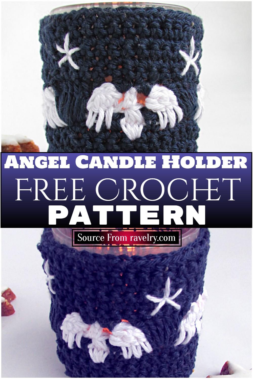 Free Crochet Angel Candle Holder Pattern
