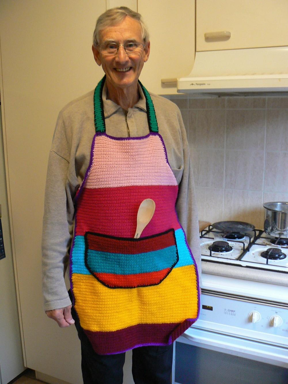 Free Crochet Appealing Apron Pattern