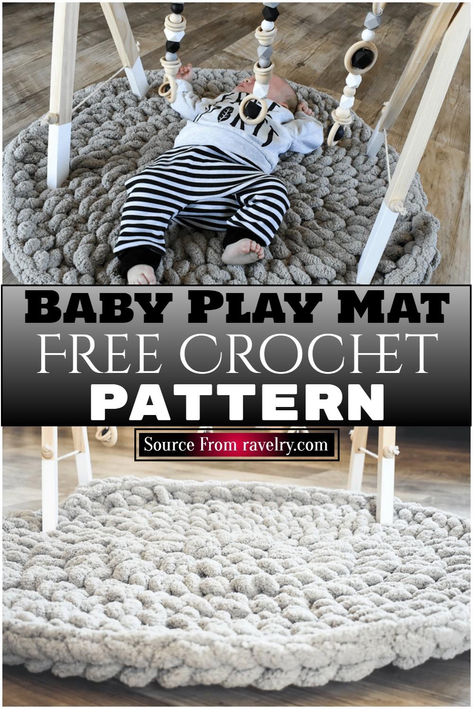 Free Crochet Baby Play Mat Pattern