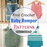 10 Free Crochet Baby Romper Patterns And Designs