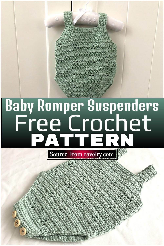 Free Crochet Baby Romper Patterns