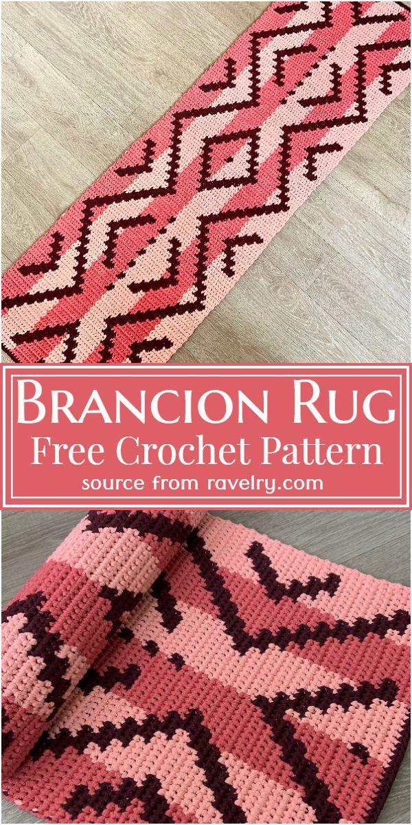 Free Crochet Brancion Rug Pattern