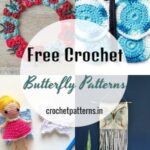 15 Free Crochet Butterfly Patterns And Designs