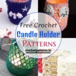 Free Crochet Candle Holder Patterns To Organize Your Home
