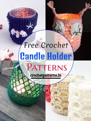 Free Crochet Candle Holder Patterns