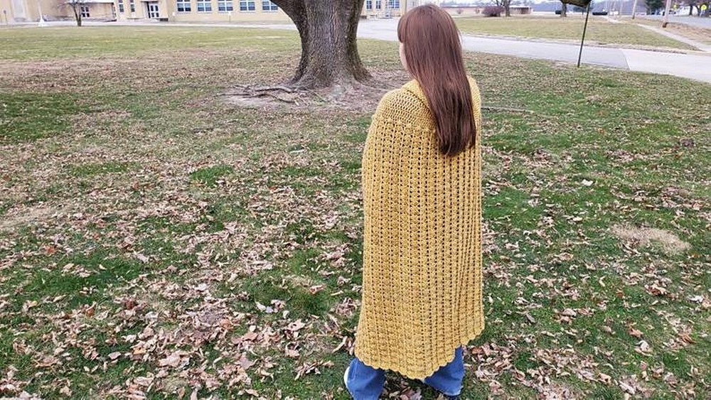 Free Crochet Cape Cloak Pattern