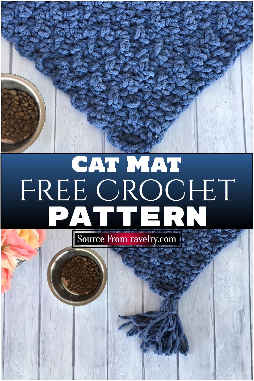 Free Crochet Cat Mat Pattern
