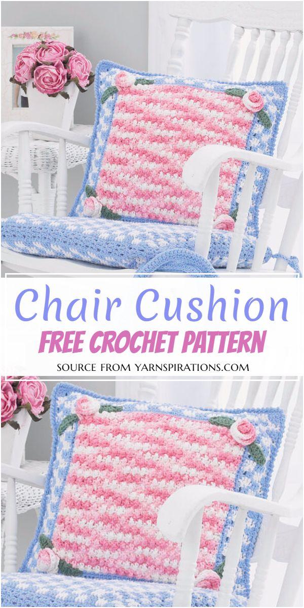 Free Crochet Chair Cushion Pattern