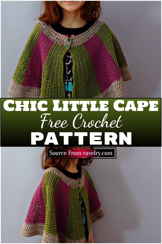 Free Crochet Chic Little Cape Pattern