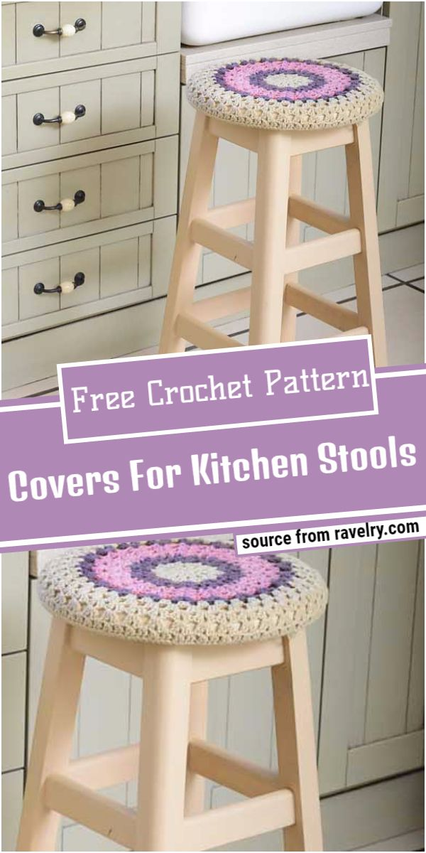 Free Crochet Covers For Kitchen Stools