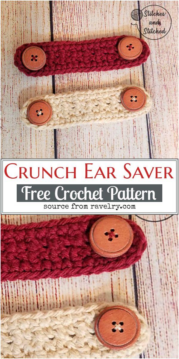 Free Crochet Crunch Ear Saver Pattern