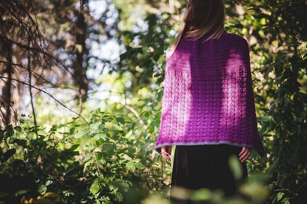 Free Crochet Enchanted Dreams Cape Pattern