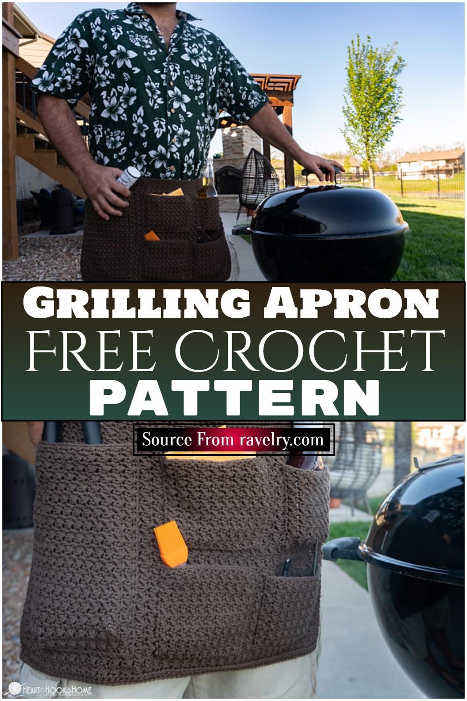Free Crochet Grilling Apron Pattern