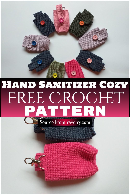 Free Crochet Hand Sanitizer Cozy Pattern