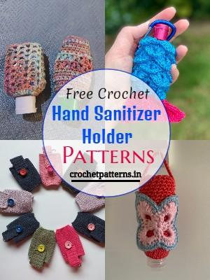 Free Crochet Hand Sanitizer Holder Patterns