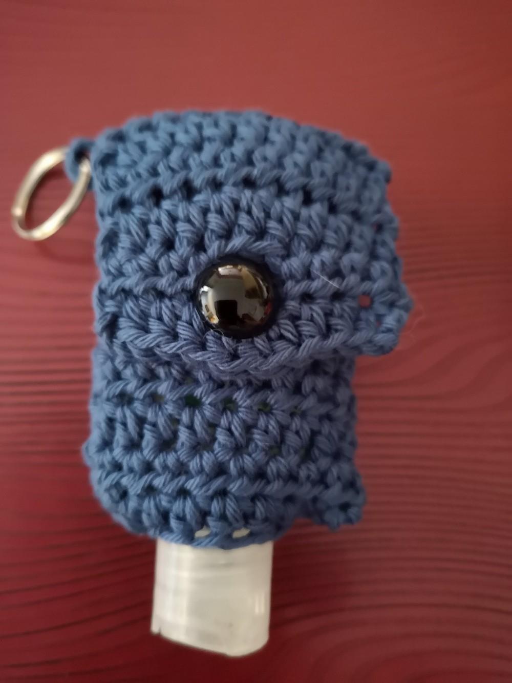 Free Crochet Hand Sanitizer Pouch Pattern