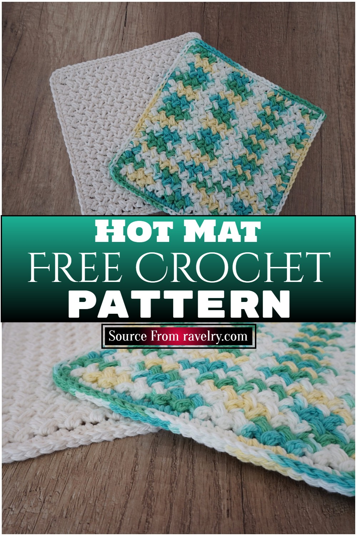 Free Crochet Hot Mat Pattern