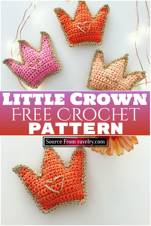 Free Crochet Little Crown Pattern