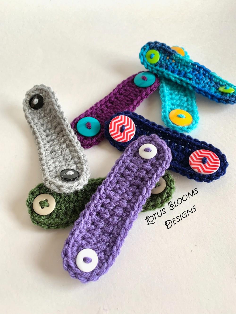 Free Crochet Mask Mates Ear Savers Pattern