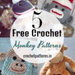Cute Free Crochet Monkey Patterns