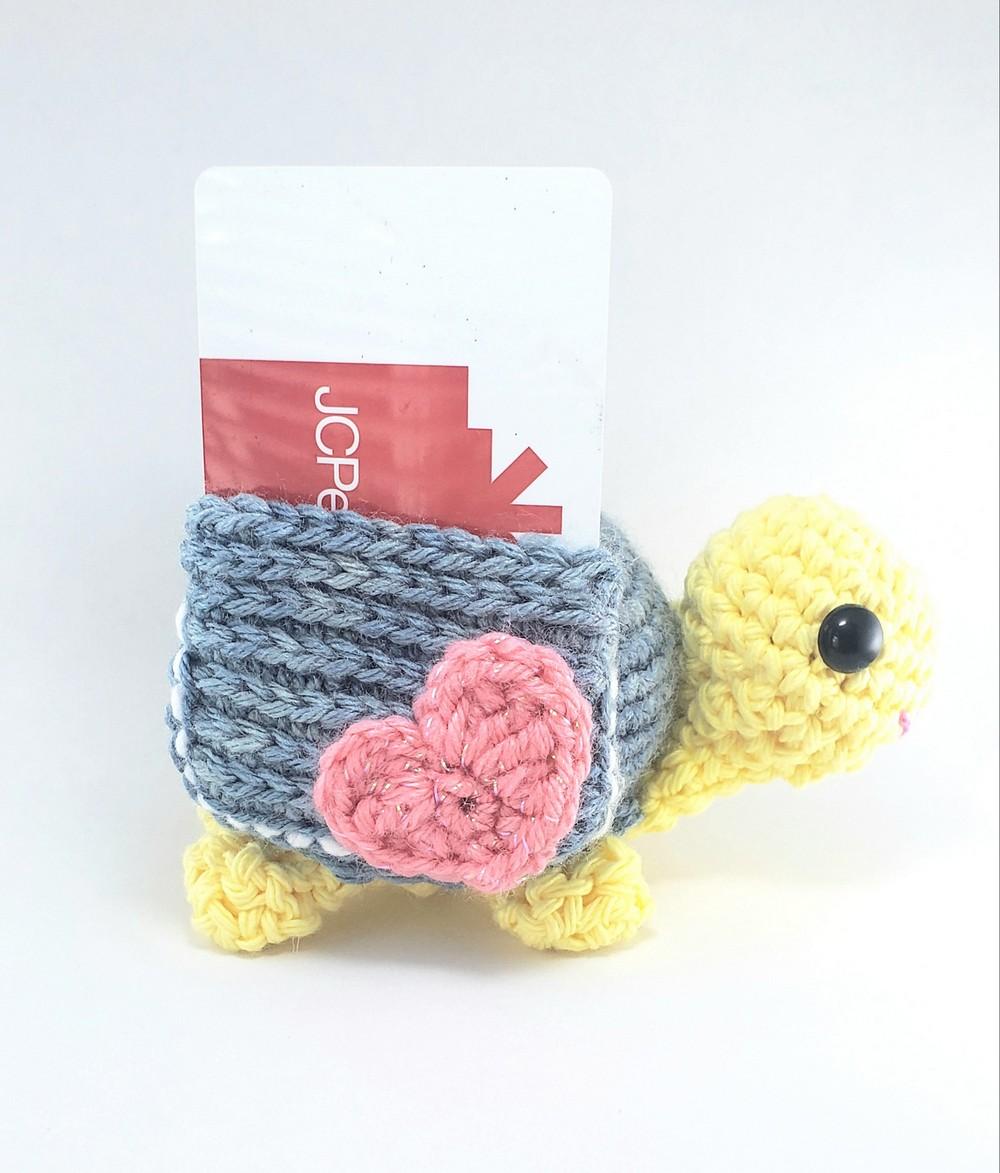 Free Crochet Pocket Turtle Pattern