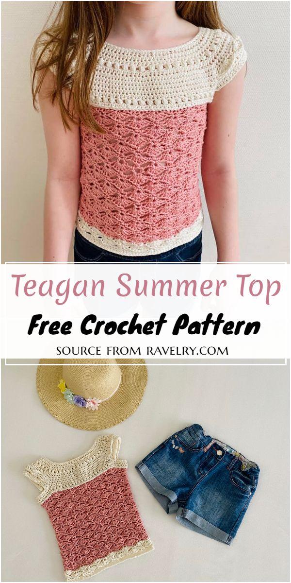 Free Crochet Teagan Summer Top Pattern
