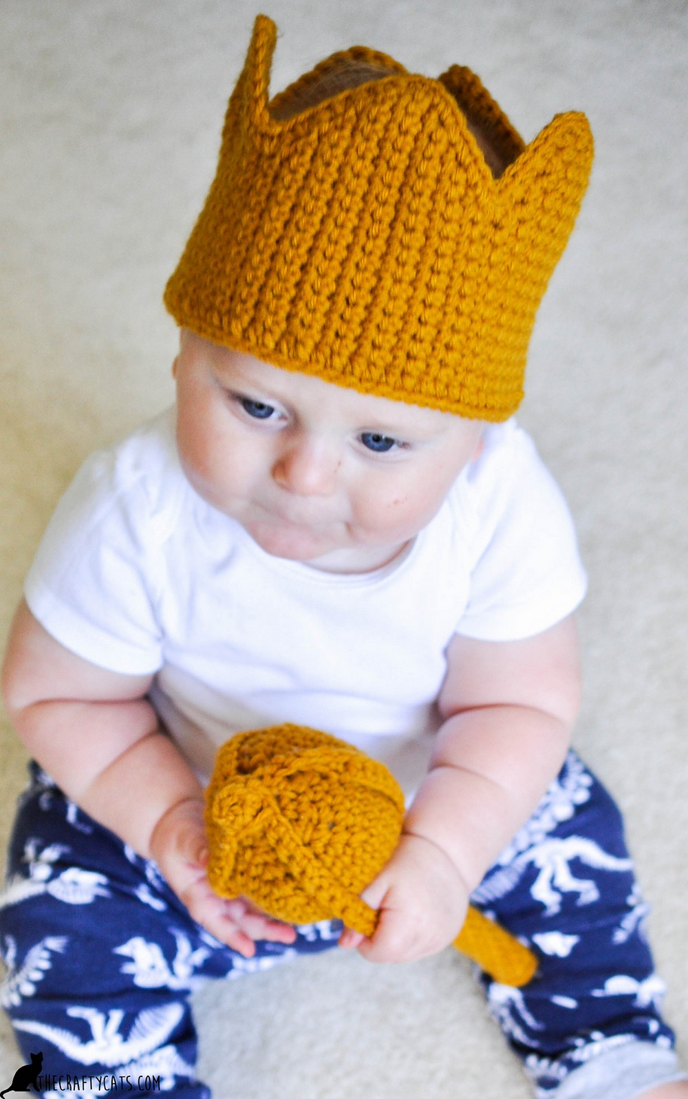 Free Crochet The Max Crown- Where The Wild Things Are Pattern